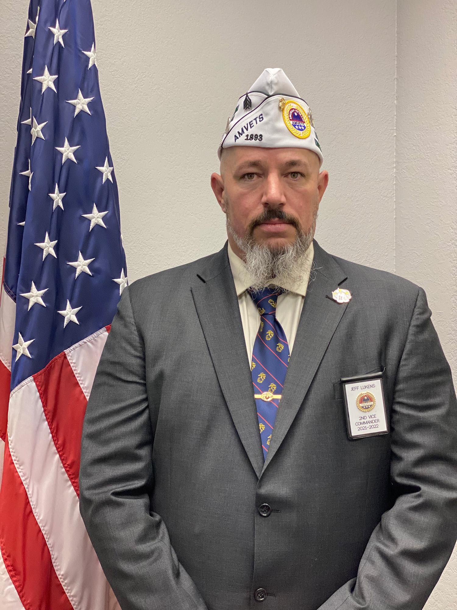 Jeff Lukens 2nd Vice Commander